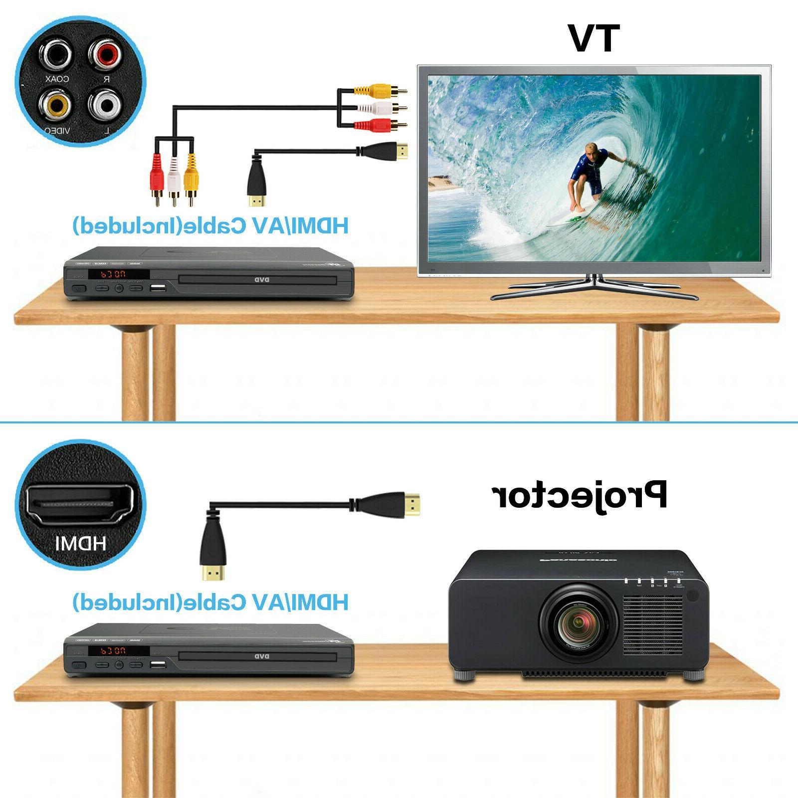 Mediasonic DVD Player - 1080P Upscaling, DVD w/ AV output