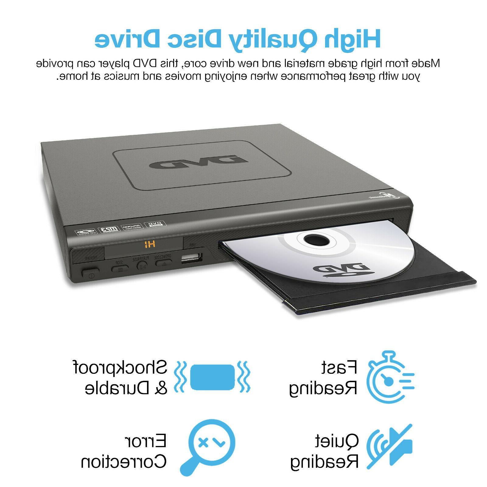 Mediasonic DVD - 1080P Upscaling, All region DVD Player AV
