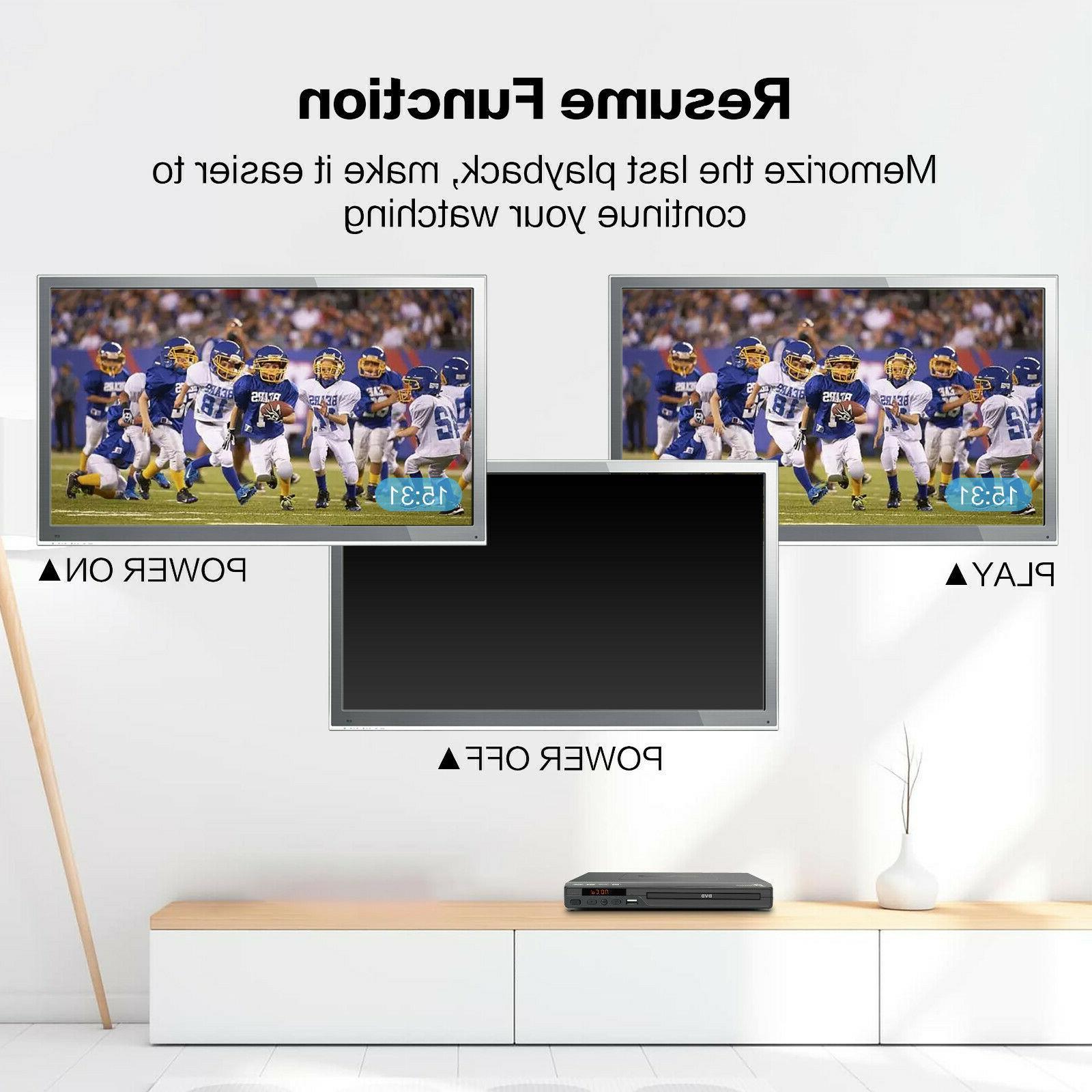 Mediasonic DVD 1080P All DVD w/ HDMI AV output