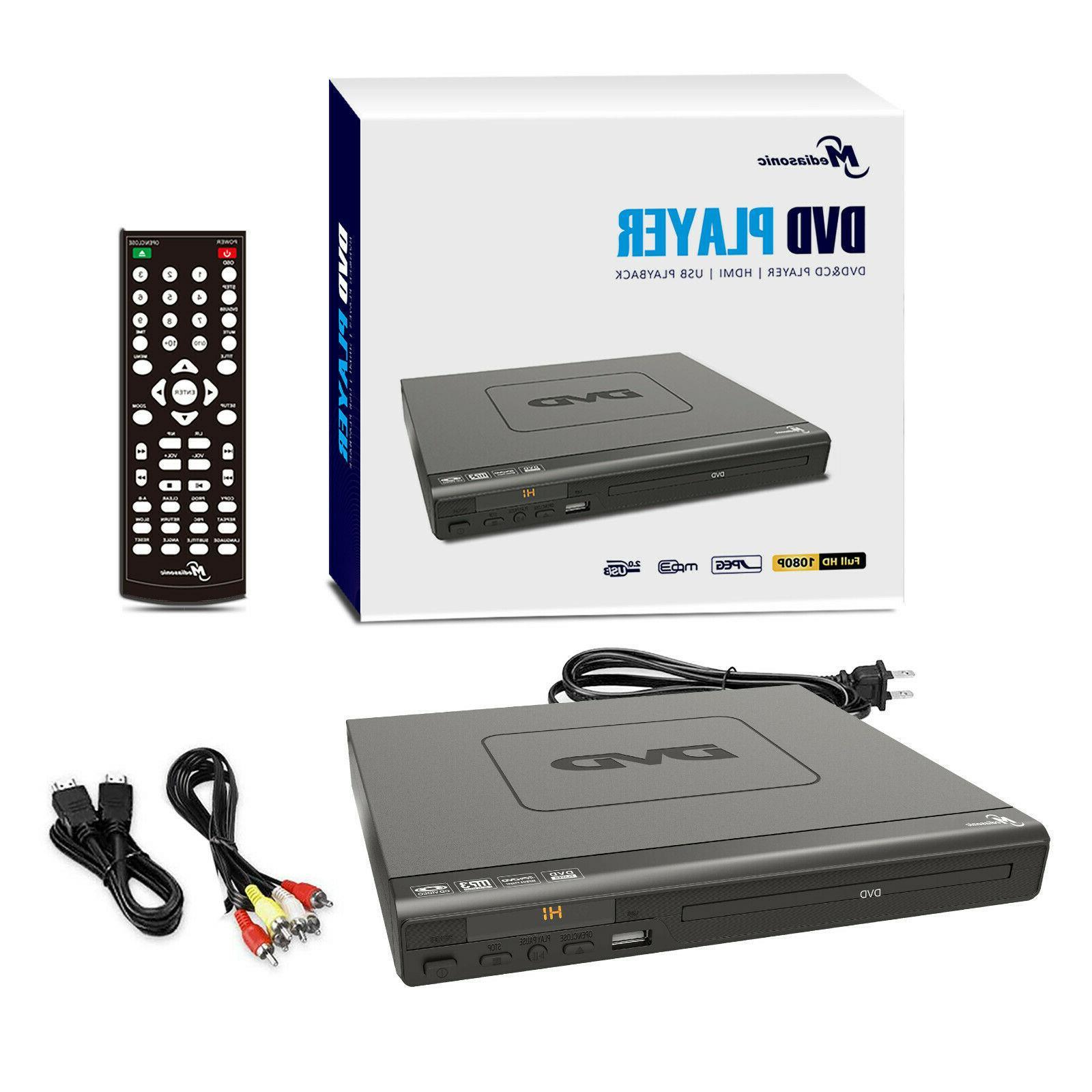 Mediasonic DVD Player - 1080P DVD Player