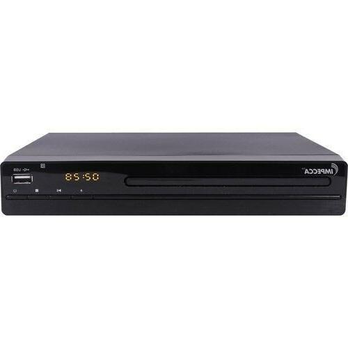 Impecca DVHP9117 Progressive Scan Compact HDMI DVD Player Up