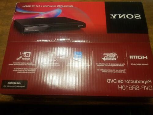 dvp sr510h dvd player black new sealed