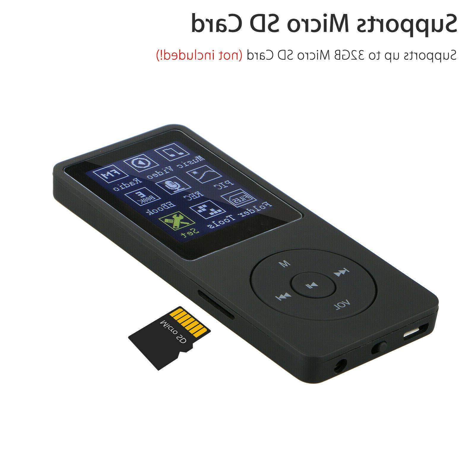 Fashion Mini HiFi MP3 Player Support SD TF Card