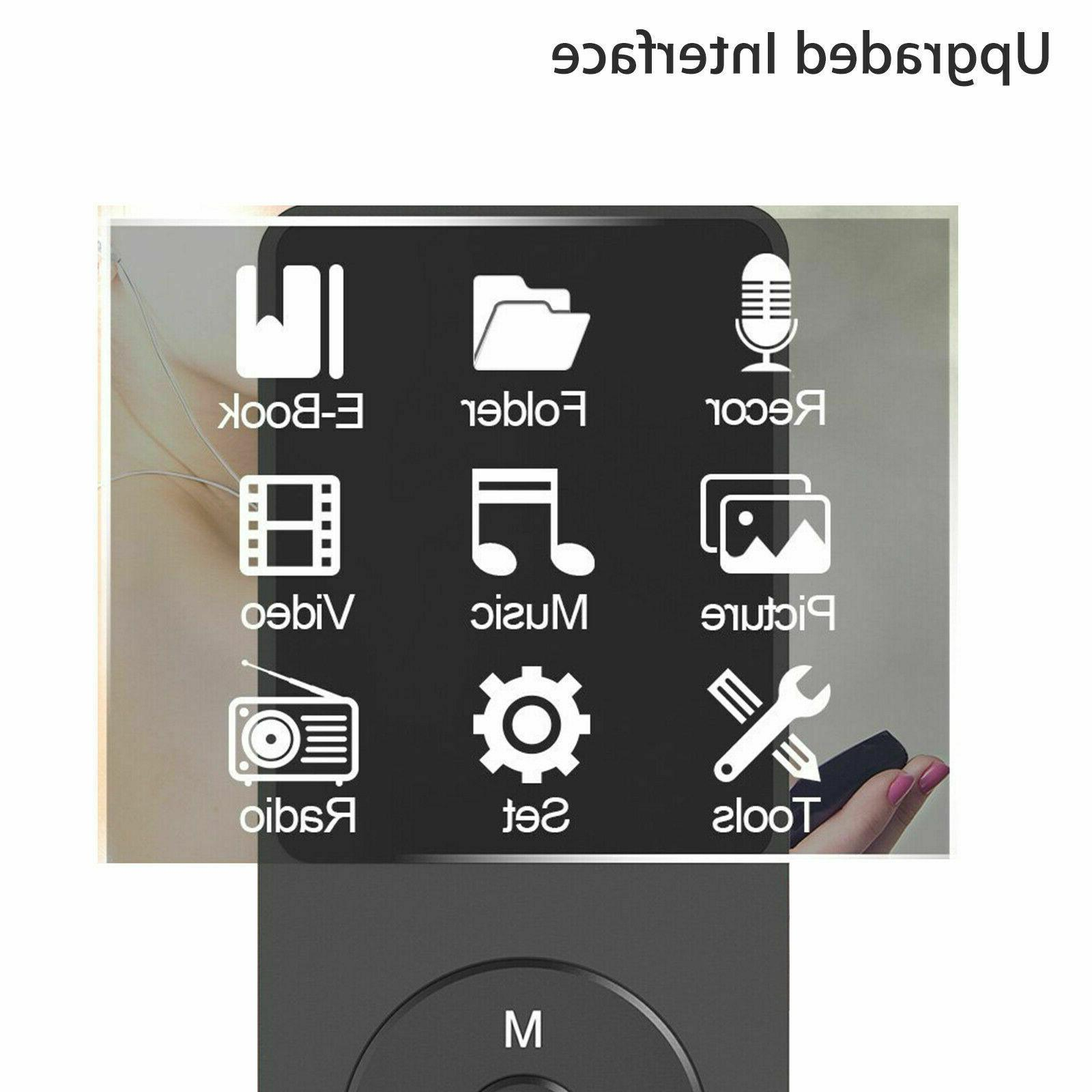 Fashion MP3 Player Support TF Card