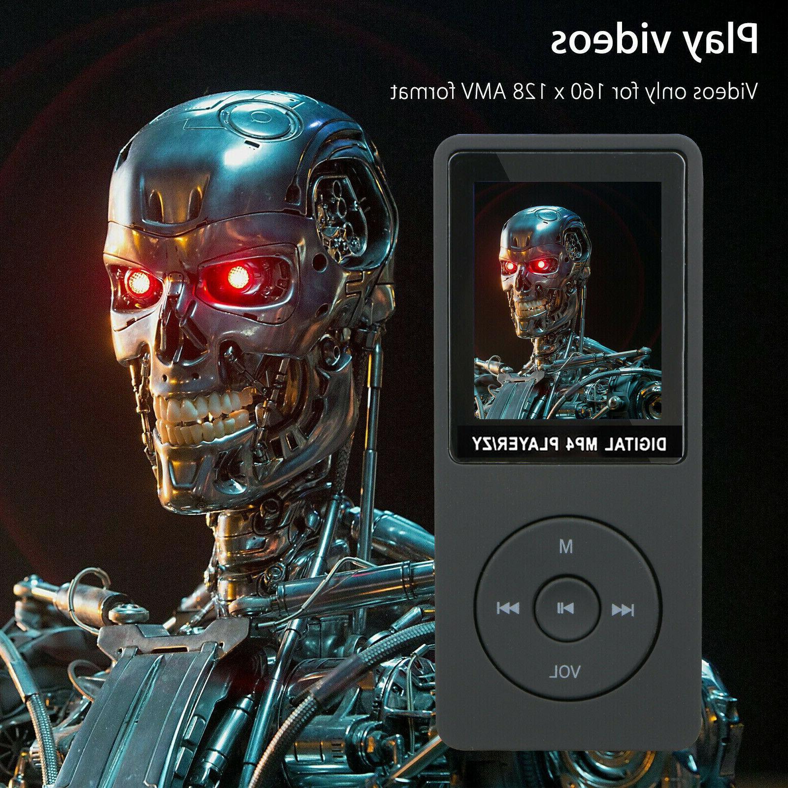 Fashion Portable MP3 Support 32GB Micro TF