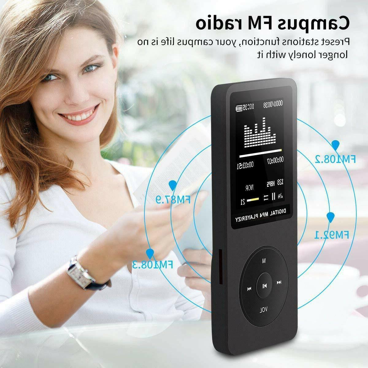 Fashion Portable HiFi MP3 LCD Support TF