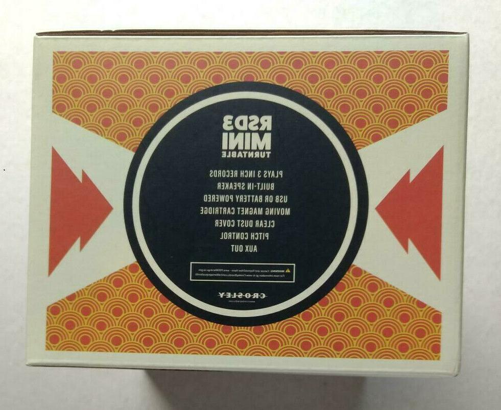 "Foo 3"" vinyl + Crosley RSD3 turntable Record RSD player"