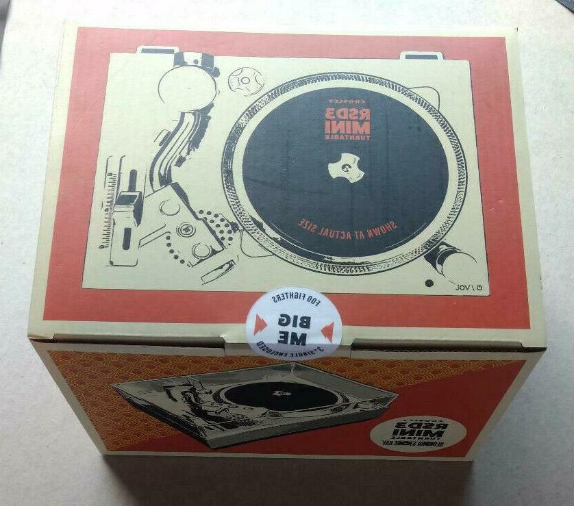 foo fighters 3 vinyl rsd3 mini turntable