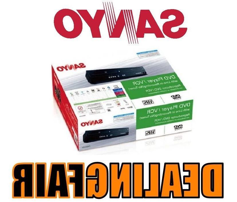 Sanyo FWDV225F DVD/VCR Combo Line in Recording, with Same Da