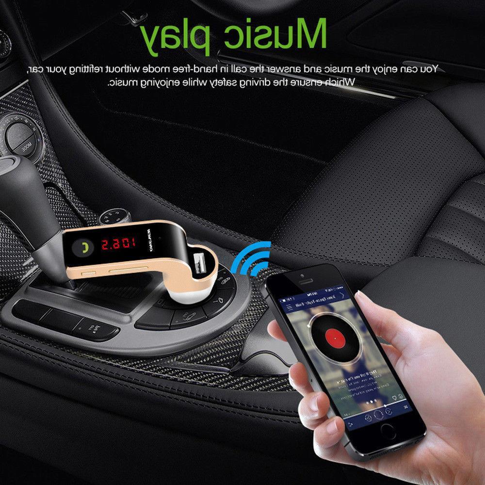 Handsfree G7 Bluetooth For Car FM MP3 Player