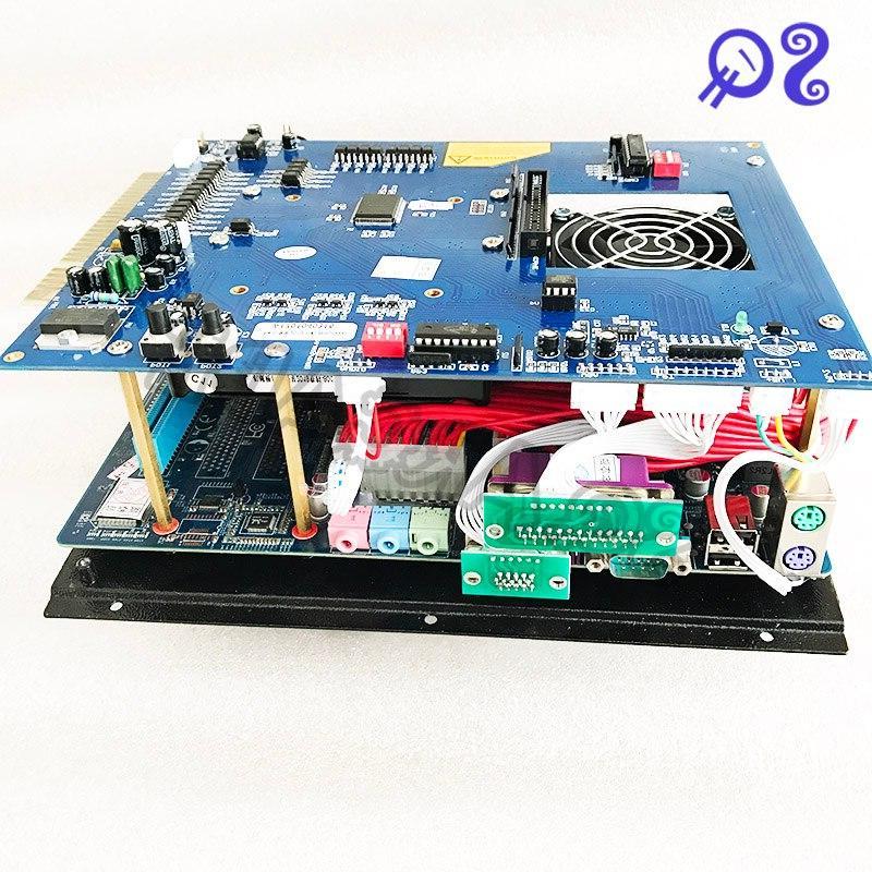 Game king 3016 1 game 2.4G CPU ATX supply <font><b>4</b></font> ball arcade machine.