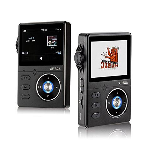 AGPTEK H01 High Resolution Lossless Inch HD Display, GB Supports up 64GB,