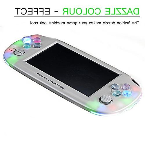 Handheld Game with 64-bit LED System Supports for Gifts for Kids