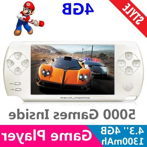 handheld portable game console media