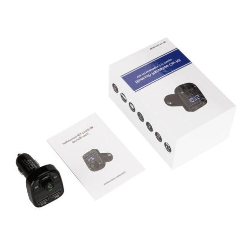 Handsfree Bluetooth Car FM Player USB