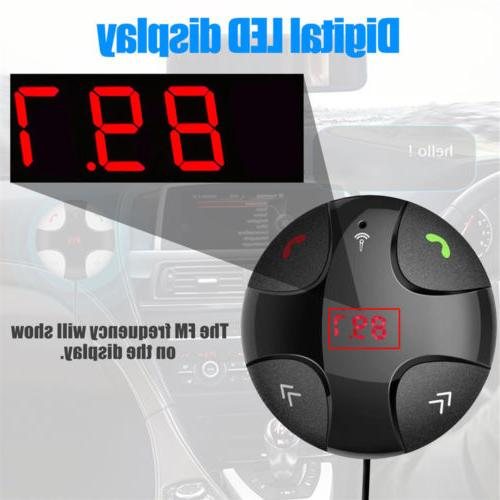 Handsfree Bluetooth Transmitter Mp3 Player with USB
