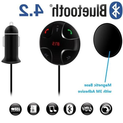 Handsfree Wireless FM Transmitter Car Kit Mp3 Player with