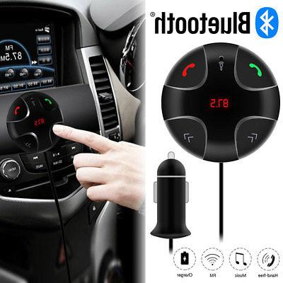 Handsfree Bluetooth FM Player USB Charger