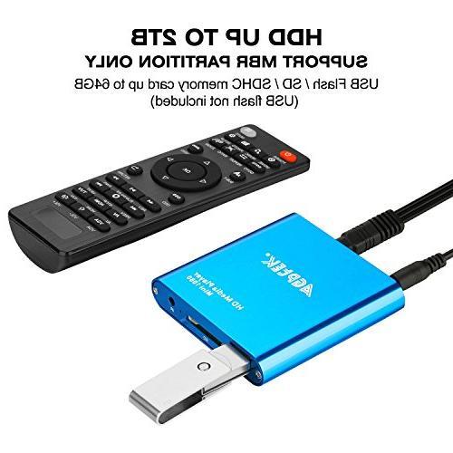 HDMI Media HDMI Media for -MKV/RM- USB Drives and