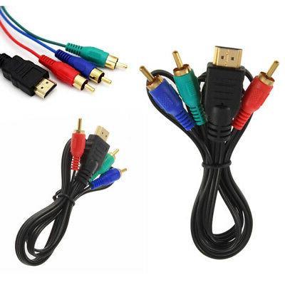 HDMI Audio AV Cable Adapter HDTV DVD HD TV