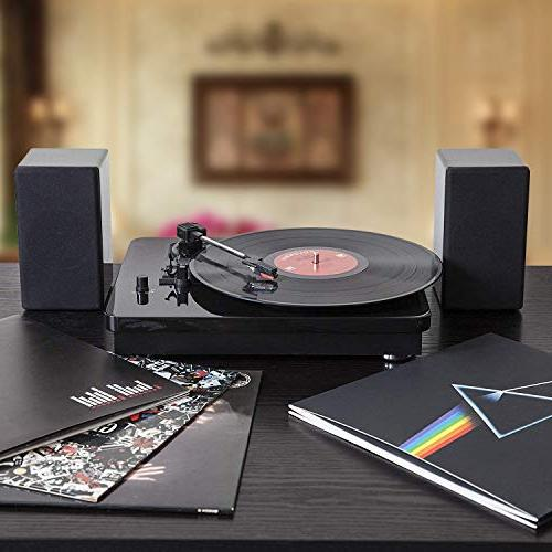YENOCK Hi-Fi 3 with Piano Finish and Passive Speakers MP3 Recording and