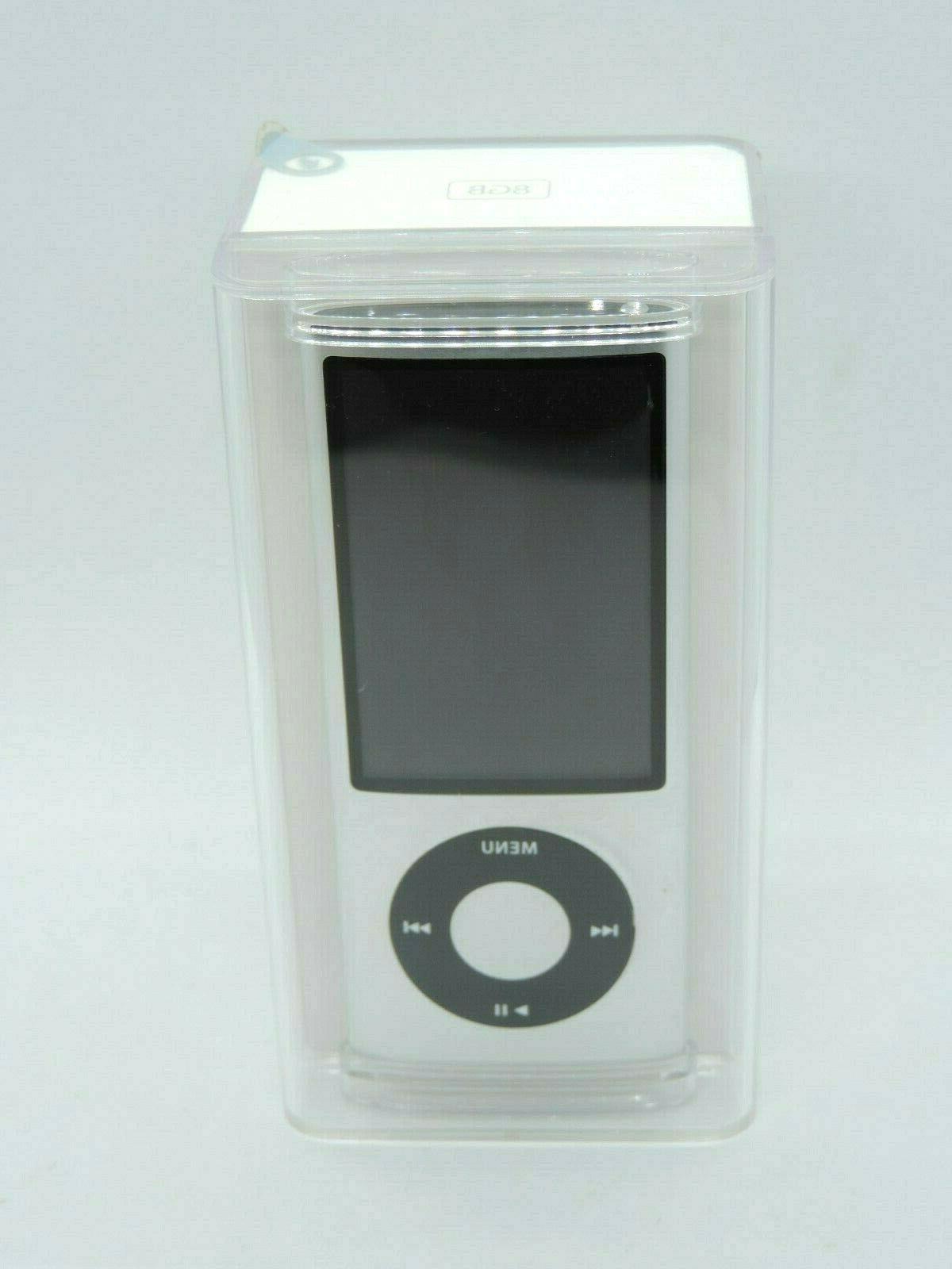 Apple iPod nano 5th Generation Silver MC027LL/A Player Collectible