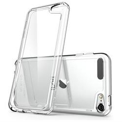 iPod Touch 6 Gen Halo Scratch Resistant Hybrid Clear Case-Cl