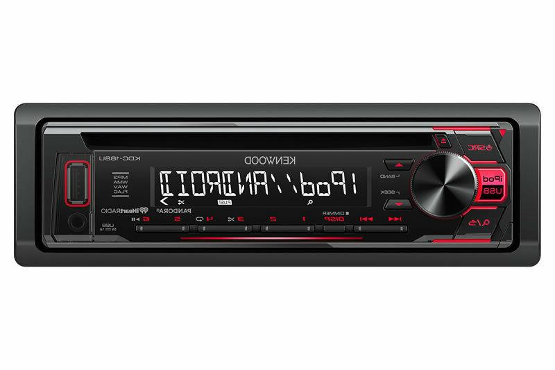 Kenwood KDC-168U CD/MP3/WMA Player Built-in Pandora iHEART R