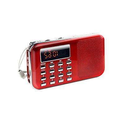 LCD Radio SD TF Music