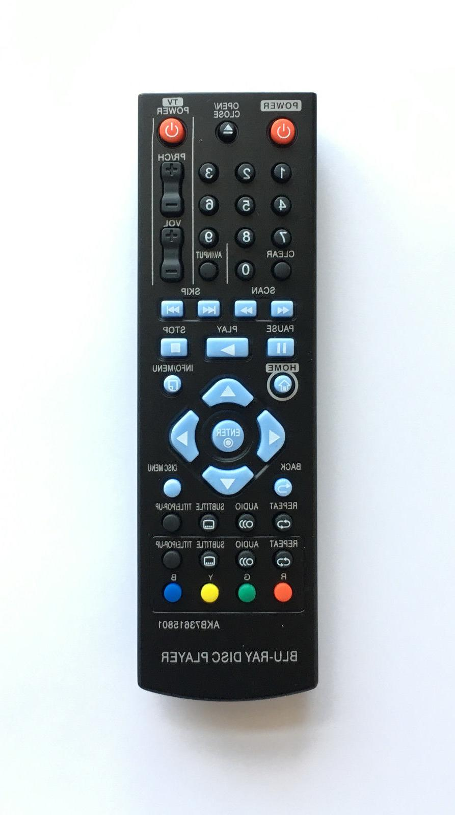 NEW LG Replacement Remote AKB73615801 Fo