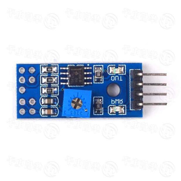LM393 small potentiometer pin / shooting