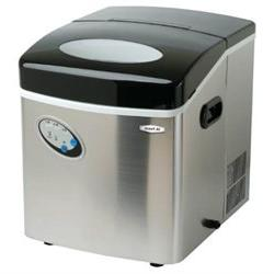 MaxiMatic MIM-88 Mr Freeze Portable Ice Maker, Stainless Ste
