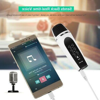 3 5mm 4 Modes Voice Changer Microphone f