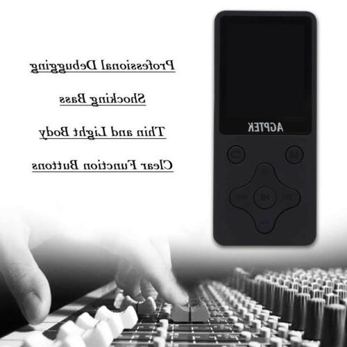 AGPtEK Version 32GB 100+ Hours Playback Lossless Player
