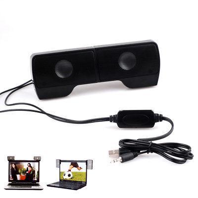 Mini Portable USB Speaker Music Player for Computer Desktop