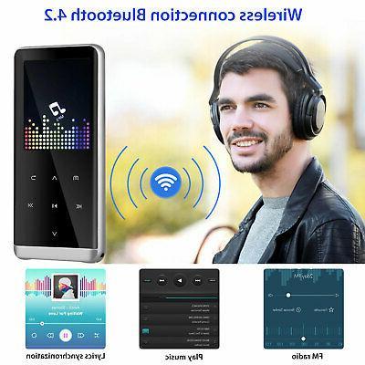 32GB Bluetooth LED Screen MP3 Player Sound Recorder