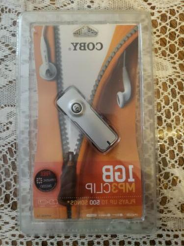 Coby Audio 1GB Clip