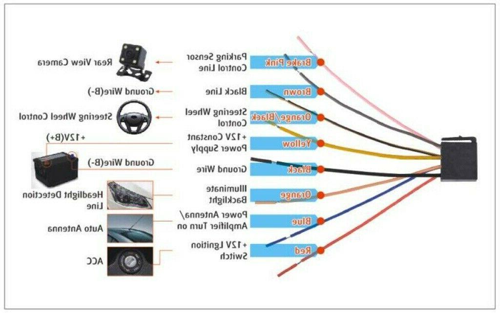 MP3 Car Radio USB Rear Camera