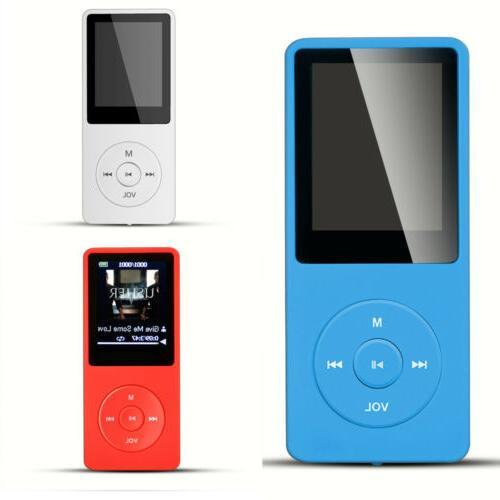 Agptek MP3 Music FM Radio Sound Recorder Playback Hours