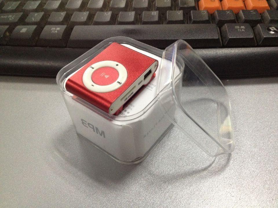 MP3 Player Mini Clip Support 32GB SD TF