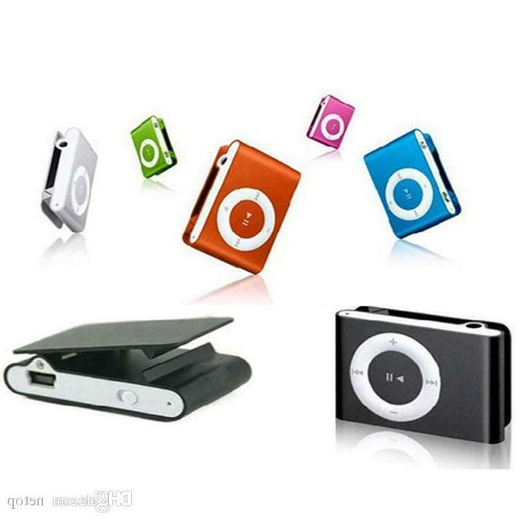 MP3 Music Player Digital Clip SD