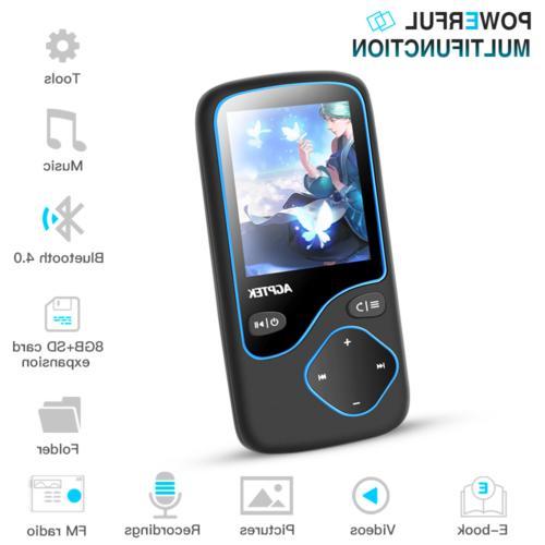 AGPTEK 16GB Portable FM Voice