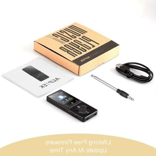 AGPTEK 16GB Versatile FM