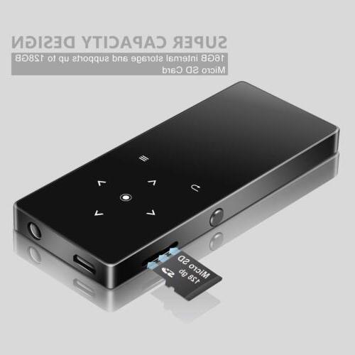 MP3 Player BERENNIS 16GB Portable Lossless Sound Metal