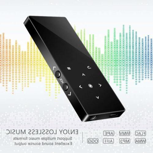 MP3 Player Bluetooth BERENNIS 16GB Lossless Sound Metal