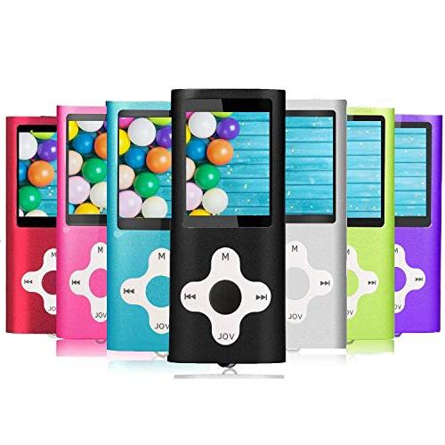 MP3 Player, Hotechs Player Slim Classic LCD 1.82'' Screen with FM Radio
