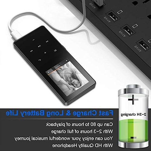 Mp3 Player,8GB Portable Lossless Digital Player Recorder/Video Play.Expandable Up to 128 GB