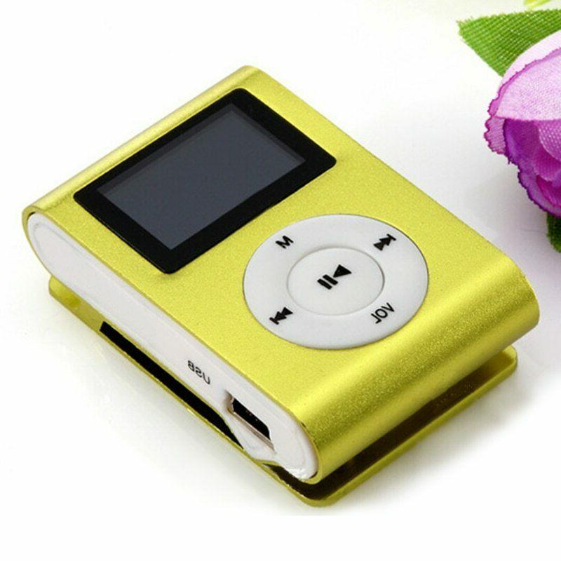 Clip MP3 Player LCD TF