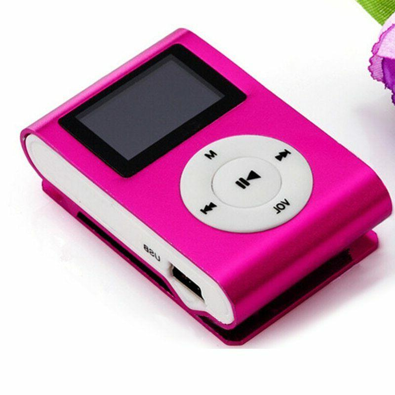 Mp3 Player Clip MP3 Screen TF Walkman