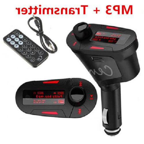 MP3 Player Wireless Transmitter & LCD Remote
